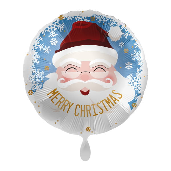 1 Ballon - Santa Merry Christmas