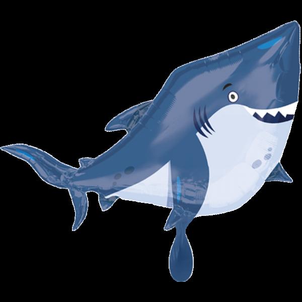 1 Ballon XXL - Ocean Buddies Shark
