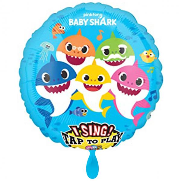 1 Musikballon - Baby Shark