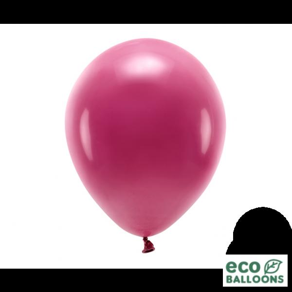 10 ECO-Luftballons - Ø 30cm - Deep Red