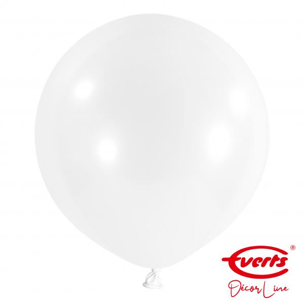 4 Riesenballons - DECOR - Ø 60cm - Frosty White