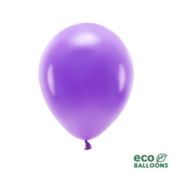 100 ECO-Luftballons - Ø 30cm - Violet
