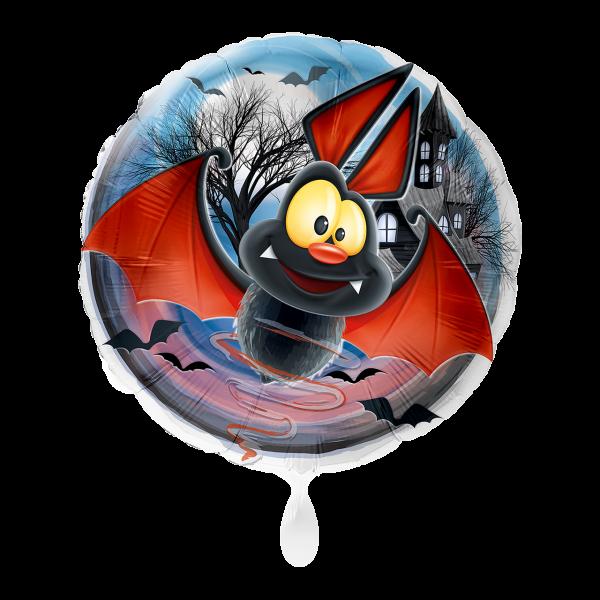 1 Ballon - Fledermaus