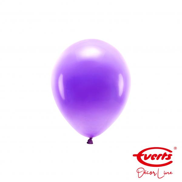 100 Miniballons - DECOR - Ø 13cm - Pearl & Metallic - Purple