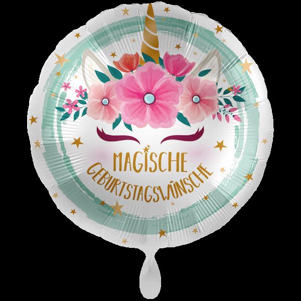 1 Ballon XXL - Unicorn Boho