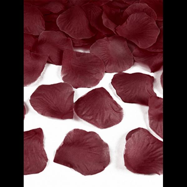 100 Rosenblätter - Dunkelrot