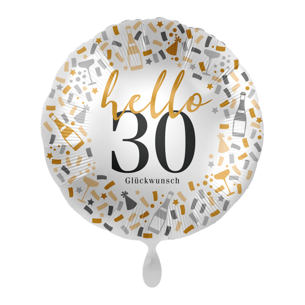 1 Ballon - Hello 30