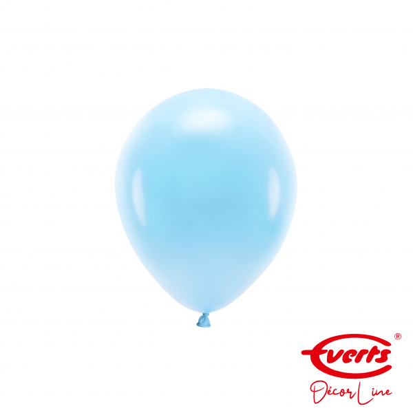 100 Miniballons - DECOR - Ø 13cm - Pastel Blue