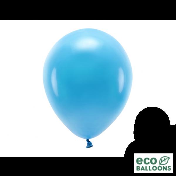 100 ECO-Luftballons - Ø 26cm - Turquoise
