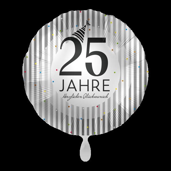1 Ballon - 25 Jahre Silver Stripes