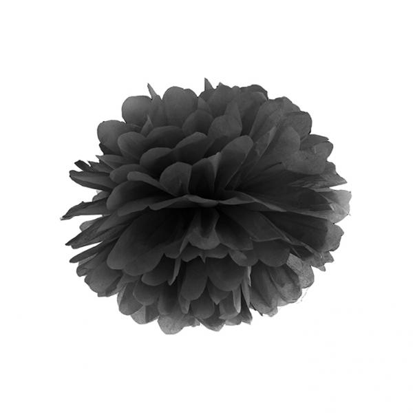 1 Pompom XL - Ø 35cm - Schwarz