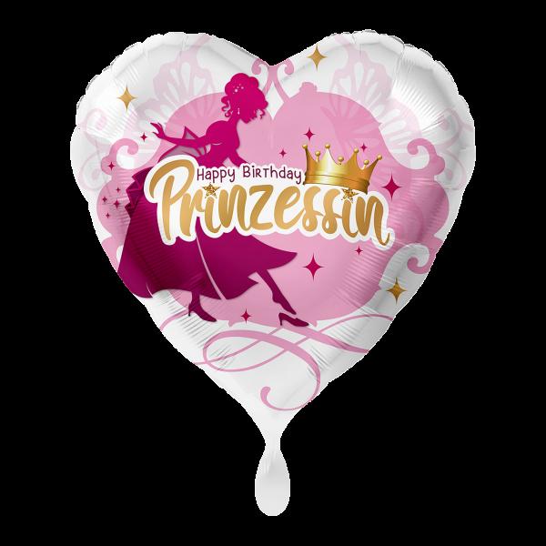1 Ballon - Geburtstag Prinzessin