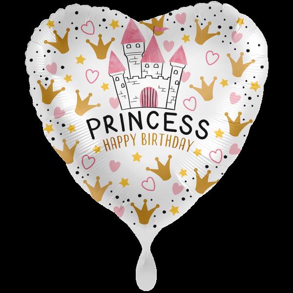 1 Ballon XXL - Magical Princess Birthday