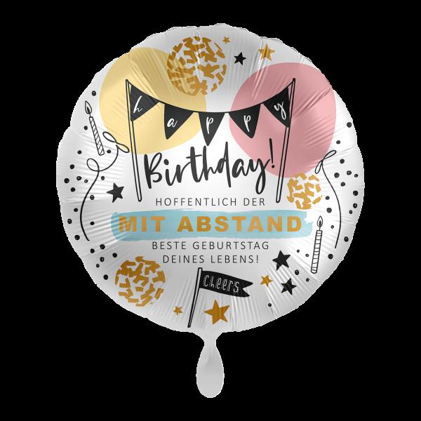 1 Ballon - Best Birthday Ever!