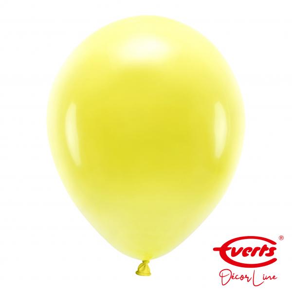 50 Luftballons - DECOR - Ø 35cm - Sunshine Yellow