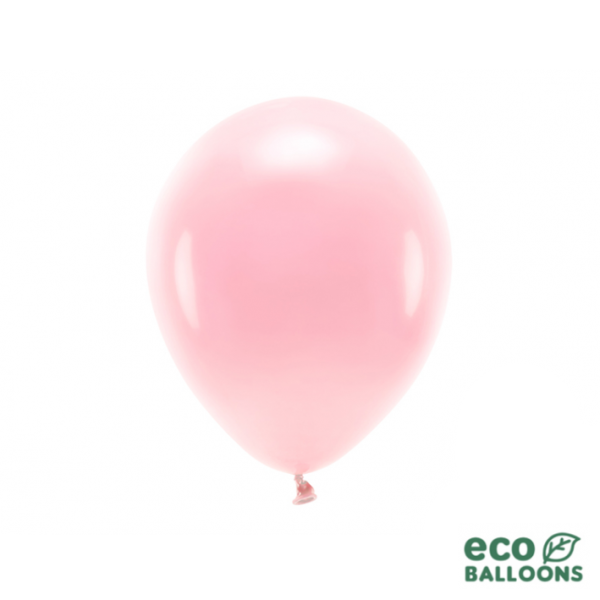 10 ECO-Luftballons - Ø 26cm - Blush Pink (Rosa)
