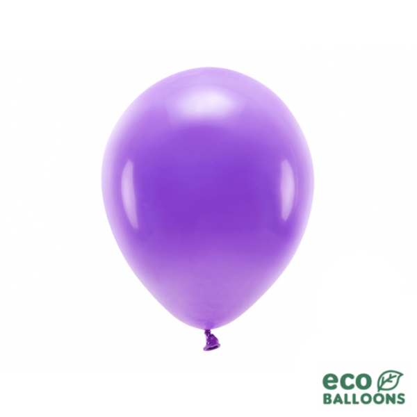 10 ECO-Luftballons - Ø 26cm - Violet