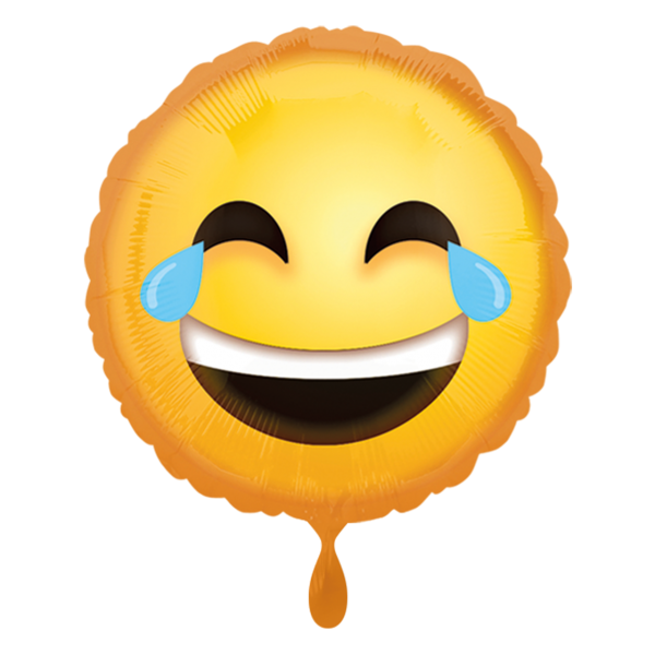 1 Ballon - Laughing Emoticon