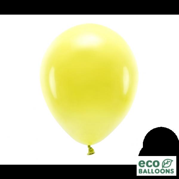 100 ECO-Luftballons - Ø 30cm - Yellow