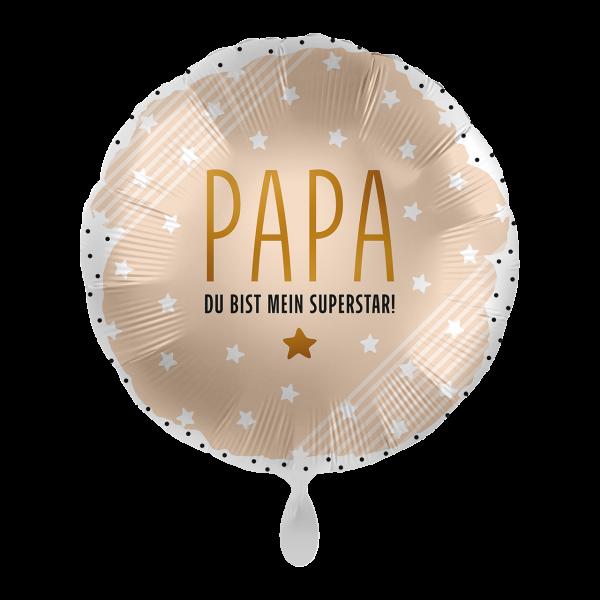 1 Ballon - Papa mein Superstar
