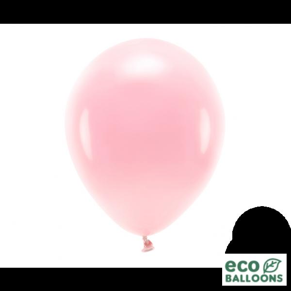 10 ECO-Luftballons - Ø 30cm - Blush Pink (Rosa)