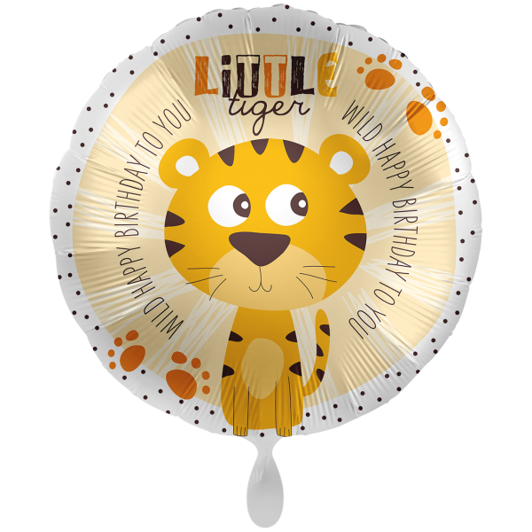 1 Ballon XXL - Little Tiger Birthday