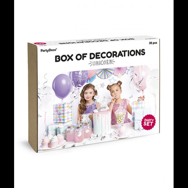Dekoration Set - Unicorn