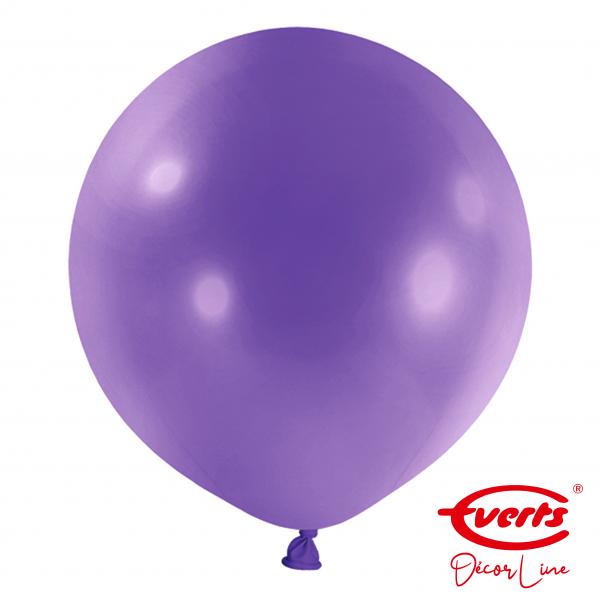 4 Riesenballons - DECOR - Ø 60cm - New Purple