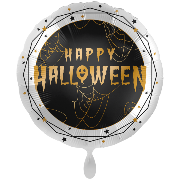 1 Ballon XXL - Golden Halloween