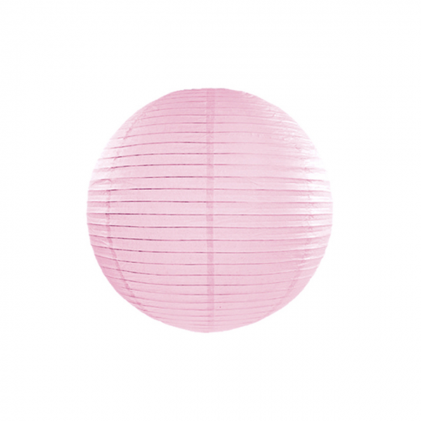 1 Lampion - Ø 25cm - Rosa