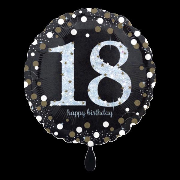1 Ballon - Sparkling Birthday 18