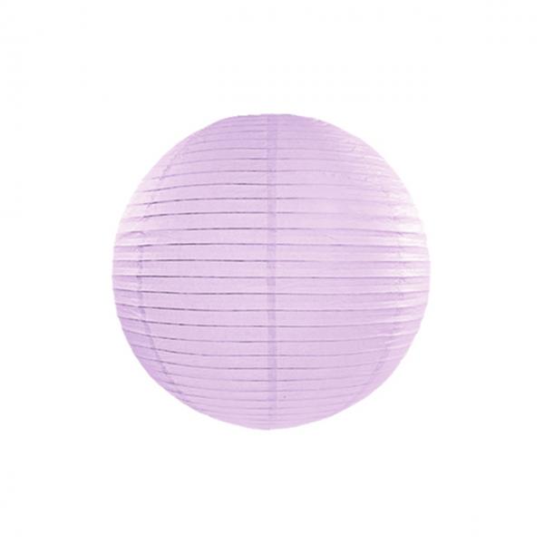 1 Lampion - Ø 25cm - Lavendel