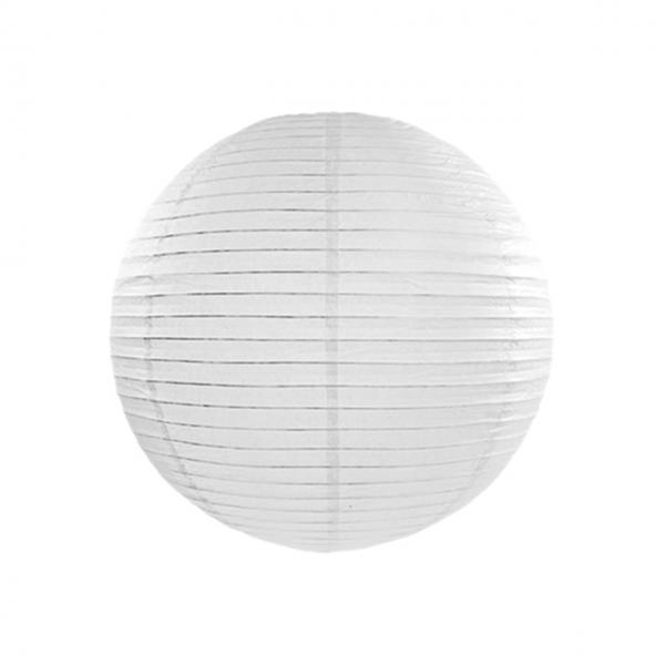 1 Lampion XL - Ø 35cm - Weiß