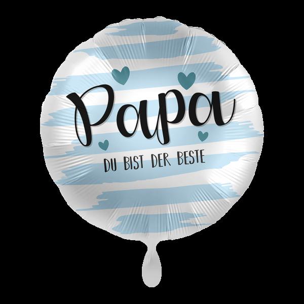 1 Ballon - Papa Du bist der Beste