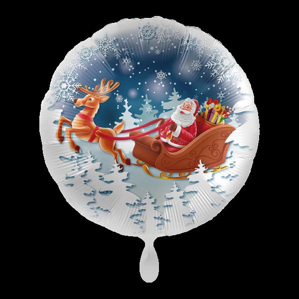 1 Ballon - Santa is Comming