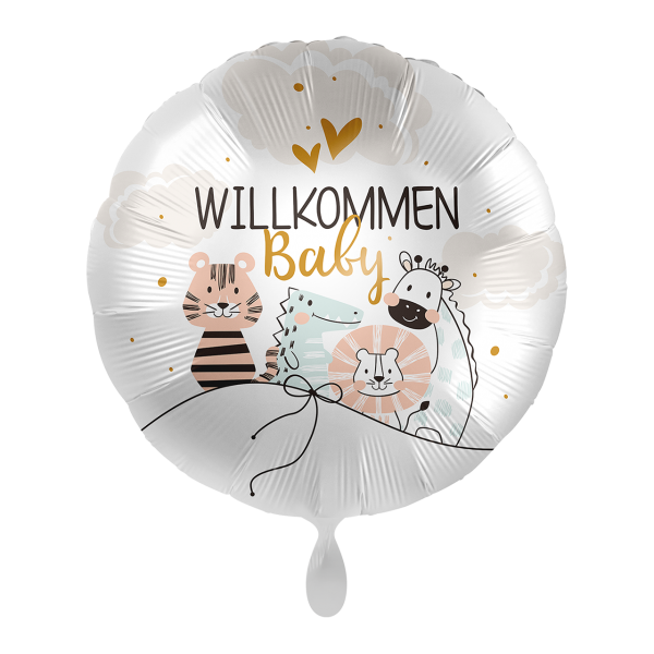 1 Ballon - Baby Little Friends