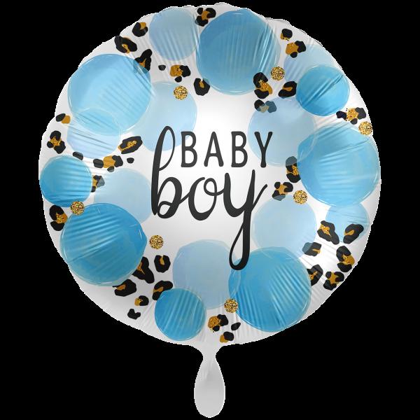 1 Ballon XXL - Baby Boy Leopard