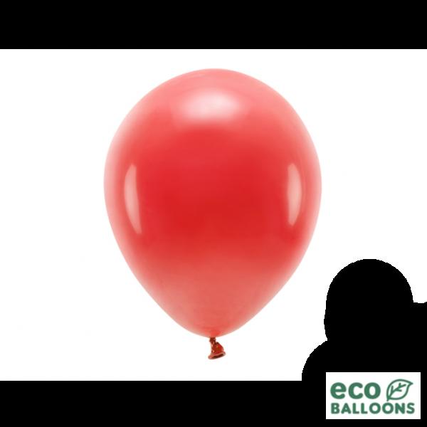 10 ECO-Luftballons - Ø 26cm - Red