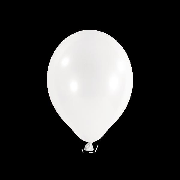 100 Luftballons - Ø 23cm - Transparent