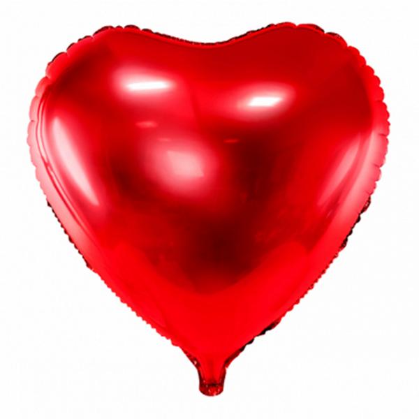 1 Ballon XXL - Herz - Rot