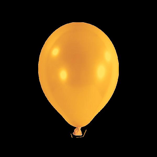100 Luftballons - Ø 27cm - Orange