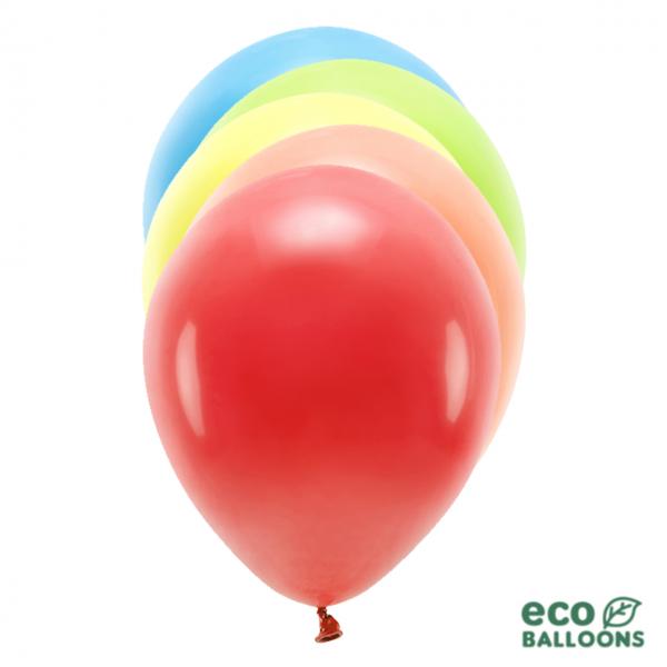 100 ECO-Luftballons - Ø 26cm - Mix
