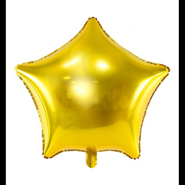 1 Ballon - Stern - Gold