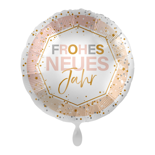 1 Ballon - Frohes neues Jahr Shine