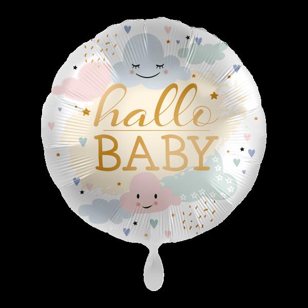 1 Ballon - Hallo Baby