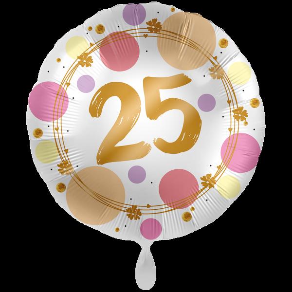1 Ballon XXL - Shiny Dots 25