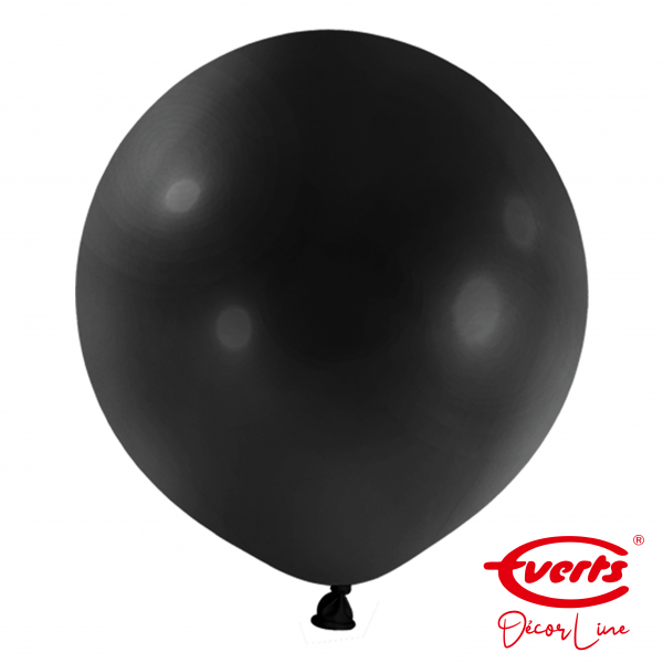 4 Riesenballons - DECOR - Ø 60cm - Jet Black