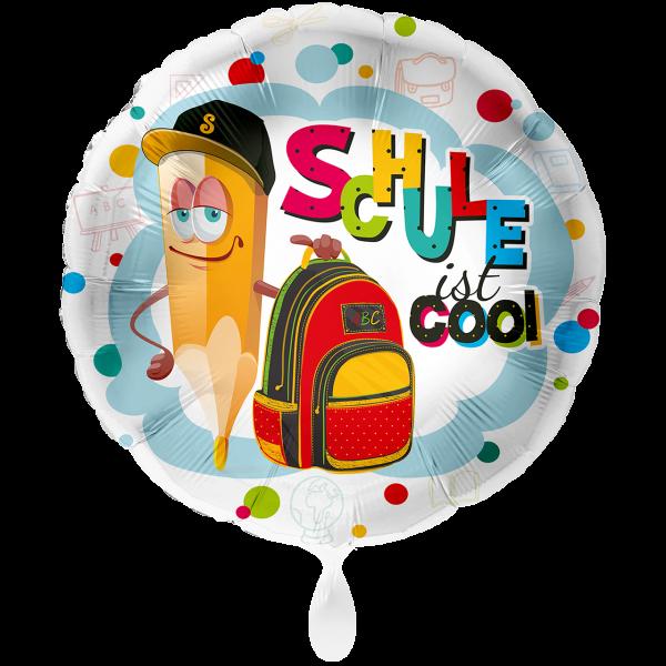 1 Ballon XXL - Schule ist cool