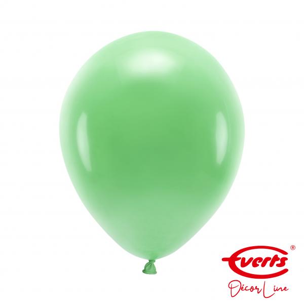 50 Luftballons - DECOR - Ø 28cm - Crystal - Festive Green