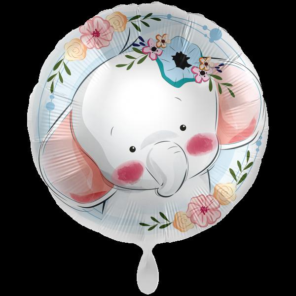 1 Ballon XXL - Cute Elephant
